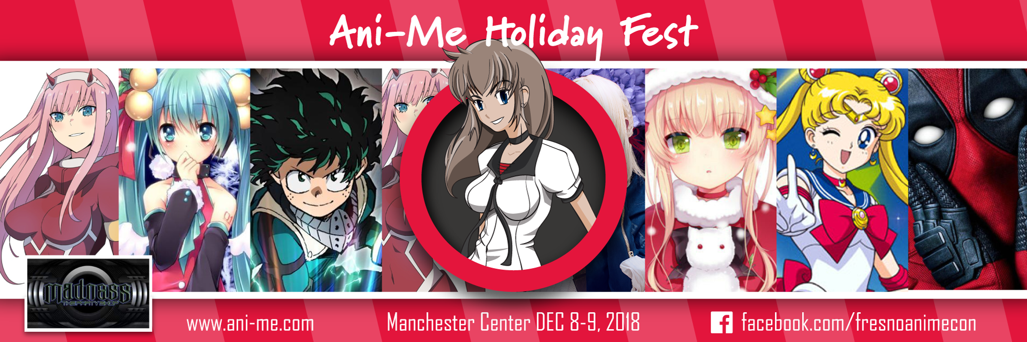 Ani-Me Holiday Fest 2018